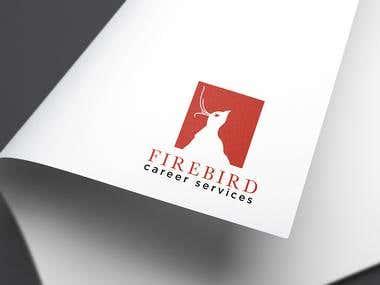Firebird Career Services Logo and Name card