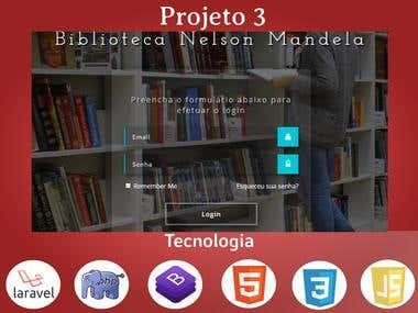 Sistema de gerenciamento de uma Biblioteca