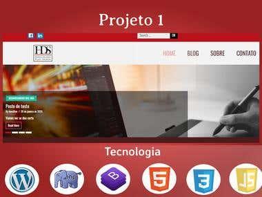 Site de desenvolvido em WordPress