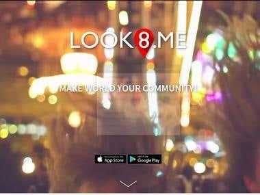 LOOK8 ME - Remote Video Sharing Platform
