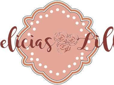 """Logo bakery ''Delicias Lillú"""""""