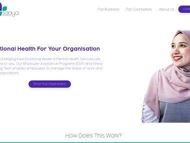 Saaya Health - A Platform for students to share mental healt
