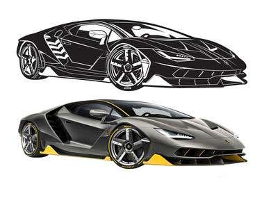 Car Vectorization