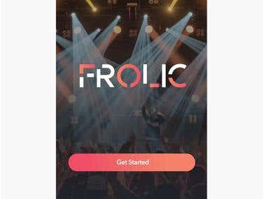 Frolic Mobile Application