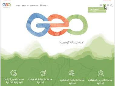 GeoDubai Branding and Web Development