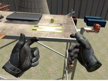 Virtual Reality Fridge