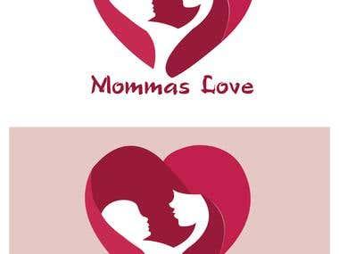 Logo design for a Mom and Baby shop