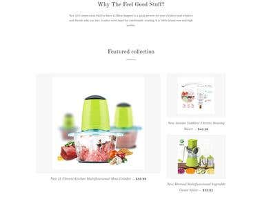 The Feel Good Stuff - Shopify Store