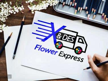 Logo For X & Des Flower Express