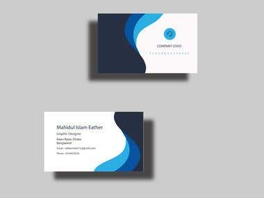 Business Card Demo Work