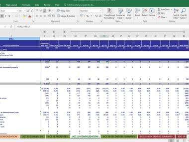 Excel editing