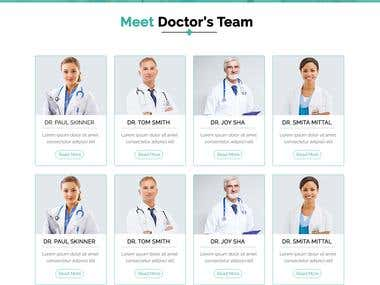 Email template for Hospital