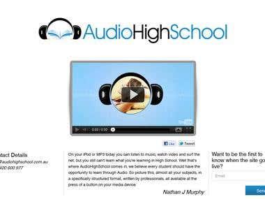 Audio High School