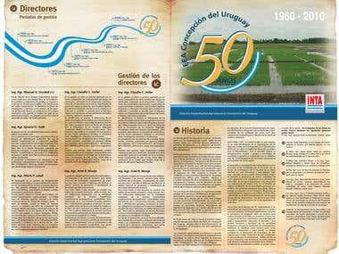 Brochure. Editorial Design INTA