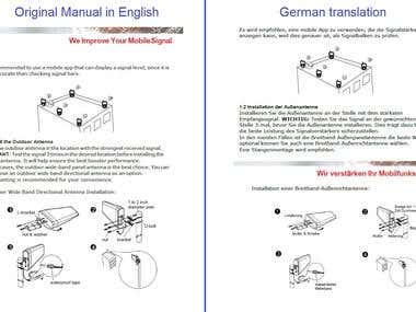 Technical Manual: EN-DE