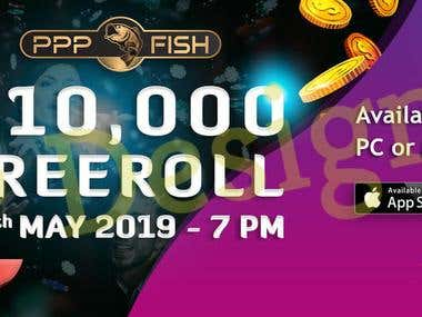 PPP Fish Poker Club - Banners Design