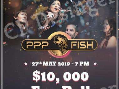 PPP Fish Poker Club - Flyers Design