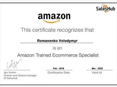 Amazon Trained Ecommerce Specialist
