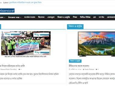 Responsive WordPress Magazine and Blog Website