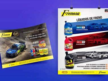 Frenosa - Branding and advertising