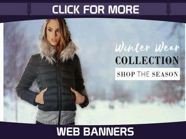Web Banners and Headers