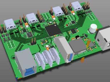 USB3.1 Hub Design