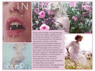 Intimates Design & Technical Illustration