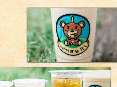 KUMA BEAR TEA LOGO