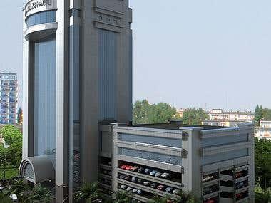 exterior rendering 2012