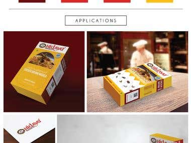 Hidayat Masala_package design