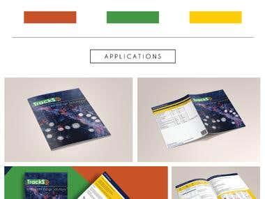 Trackso Brochure design