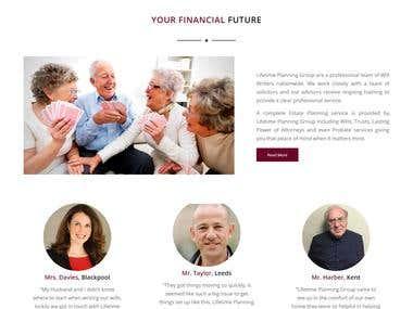 Life planning website