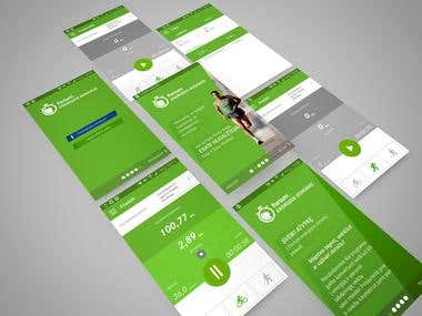 iOS and Android app front-end Development