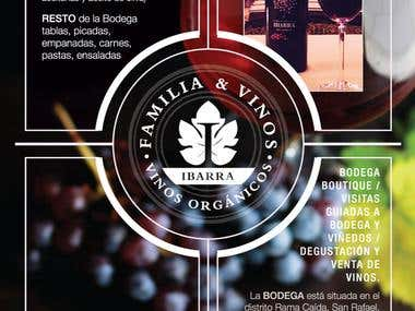 Brochures Winery Ibarra