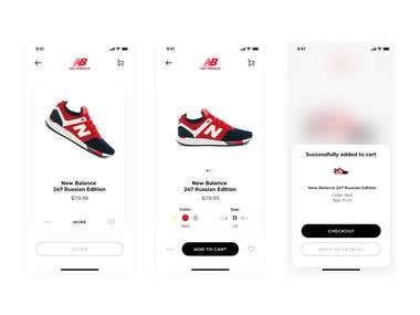 Sneakers App