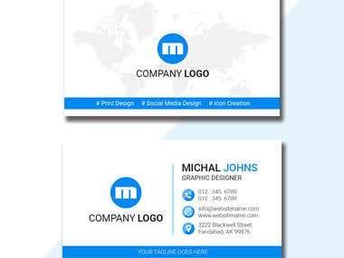 Design me a business card