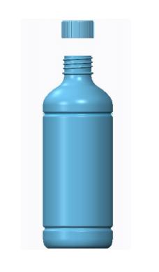 Three different models Bottle Design