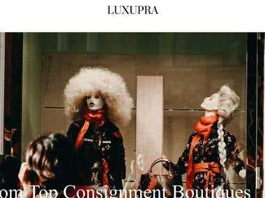Luxupra Marketplace