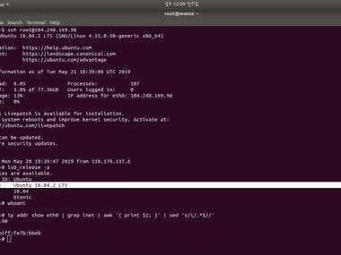 Ubuntu 18.04.2 LTS System Administration