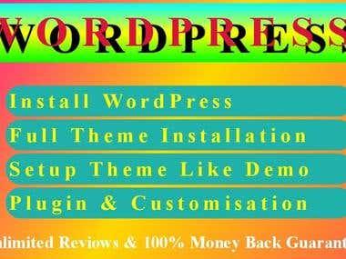 Modern WordPress Website, Blog, Landing Page Built Very Fast