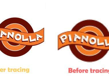 Pianolla Logo Tracing