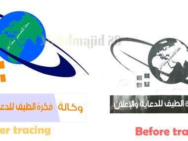 Logo tracing