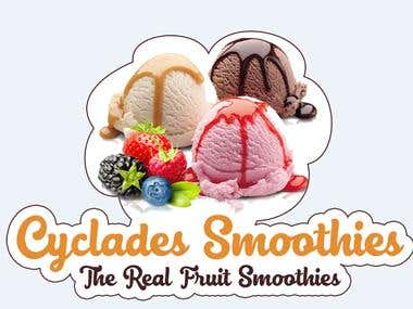 Cyclades Smoothies Logo