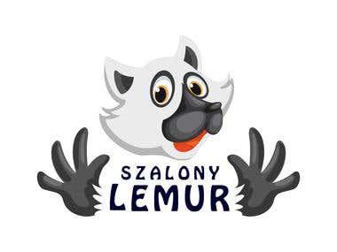 SZALONY LEMUR