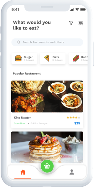 Dine and Dice app