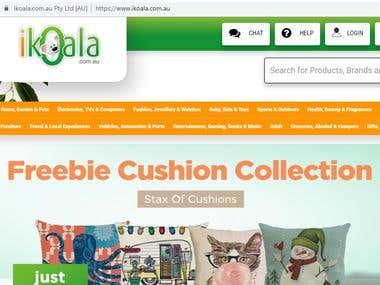 Online E-commerce Multi-vendor Website