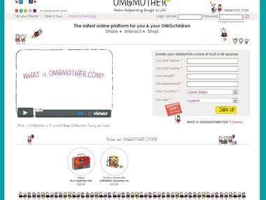 OMGMother - Social Network - Drupal