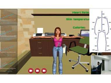 Human Monitoring PhD project