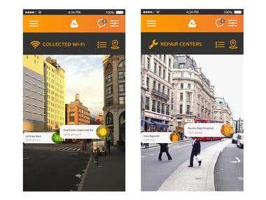iBackpack mobile app 2
