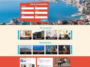 BeMyGuest travel agency website